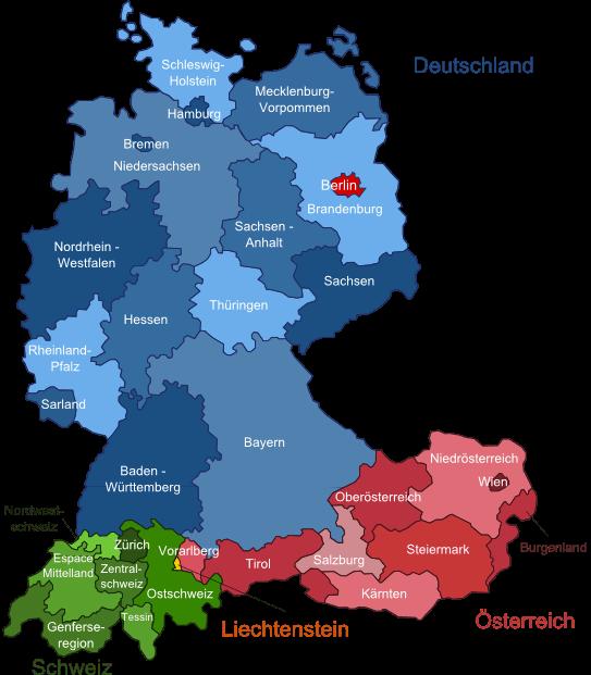 Wetter in Deutschland, Österreich, Schweiz